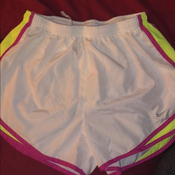 Nike Pants - White Nike Running shorts